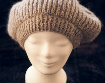 Knitted hat (large)