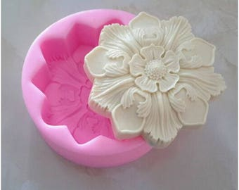 Retro Flower Silicone Mold