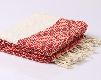 Hamamtuch, Pestemal, sauna towel and bath towel, Frotiertuch, hand-woven, 100% cotton, 180 x 95 cm
