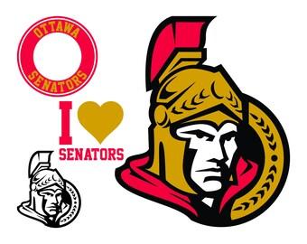 Ottawa Senators Cut Files, Ottawa Senators SVG Files, Ottawa Senators SVG Cutting Files, Ottawa Senator Cuttable SVG File, Instant Download