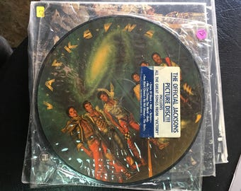 The Jackson Five picture disk vinyl record LP
