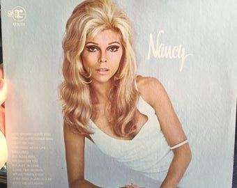 "Nancy Sinatra ""Nancy"" Vinyl record LP album"