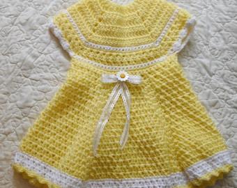 Sunflower Baby Dress