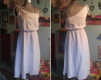 Greek Goddess Gown • 1960s Dancing Dress ·· Cosplay ·· Costume ·· Theater