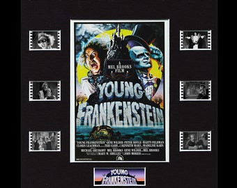 Young Frankenstein Framed and Mounted Genuine 35mm Film Cell Display