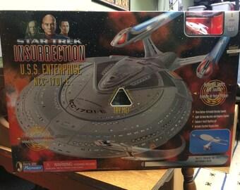 Star Trek Insurrection USS Enterprise Lights and Sounds