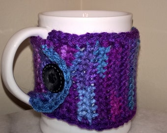Coffee cup cozy or tumbler cozy.Big or small