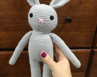 Crochet toy bunny rabbit, amigurumi rabbit, easter bunny, photo prop, amigurumi bunny, crochet rabbit,nursery decor, bunny, plush toy rabbit