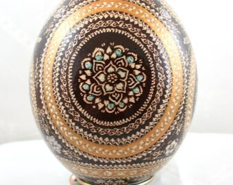 easter ostrich egg, ostrich eggs, pysanka, hand decorated, pysanky, unique, gift for parents , Easter egg , Easter eggs , gift for easter