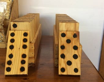 Recycled Timber Dominoes set