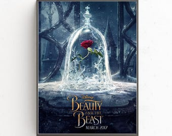 Beauty and the Beast the magic rose movie cover poster
