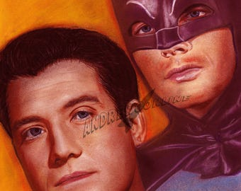 Batman and Superman - Adam West George Reeves