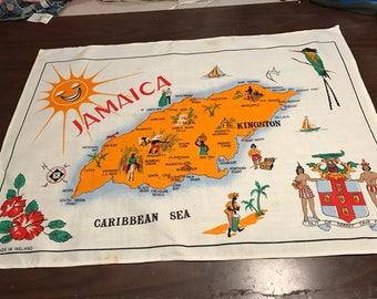 Jamaica linen table runner