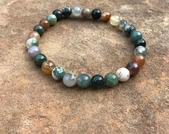 Natural Greens Bracelet