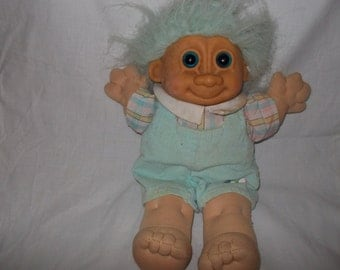 "Russ brand 14"" cloth Troll doll"