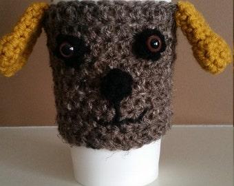 Dog Coffee Cup Cozy
