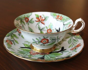 Royal Chelsea teacup and saucer