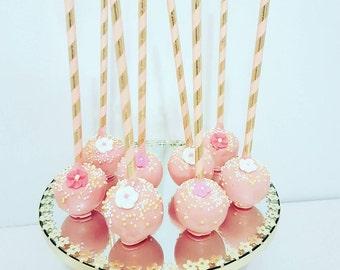 Flower Cakepops -  Dozen