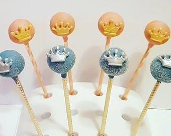 Princess / Prince Cakepops -  Dozen