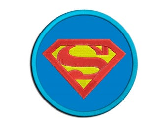 Superman Embroidery design - Applique - Machine embroidery design  - NushNusha shop