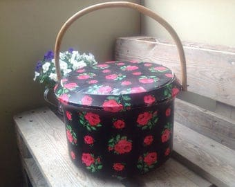 Sewing basket 1950s