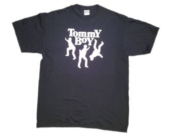 Tommy Boy label hip hop 90s black music rap shirt culture old school