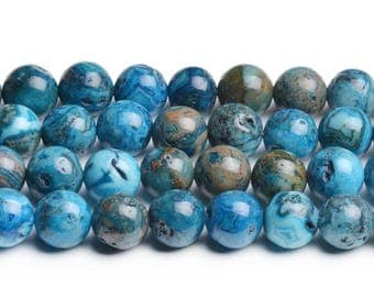 8mm blue crazy lace agate blue gemstone beads blue crazy agate blue agate 8mm polished stones wholesale gemstone supply 8mm blue agate beads