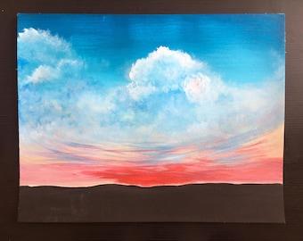 Original Acrylic Sky - Confusion
