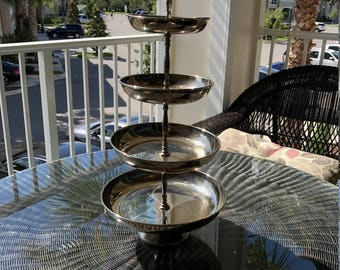 4 tier dessert tray