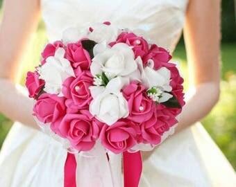 Fuschsia bouquet