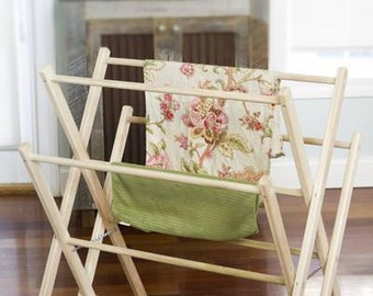 Wooden Drying Rack - The Peddler
