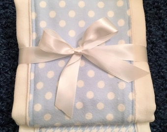 Baby Burp Cloths - Baby Blue - Boy - set of two