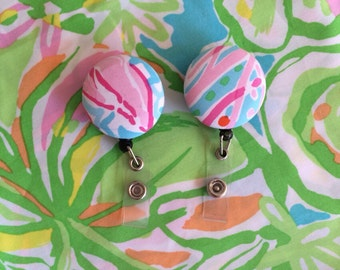 Lilly Pulitzer Badge Reel - Lilly Inspired