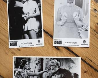 Logan's Run - Lobby Card Copies - Set of 3 (Michael York / Jenny Agutter)