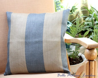 Luxury  Linen  Cushion Cover - High Quality and Durable fabric - Romo Fabric 100% Linen, UK Free Delivery