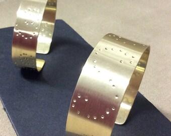 Brass bracelets