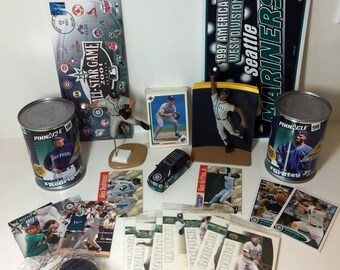 Seattle Mariners Collectibles! Great for Man Cave!