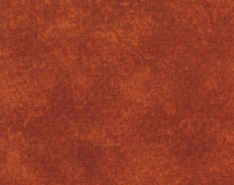 SALE 1 yard Rust Tonal Quilting Weight Cotton