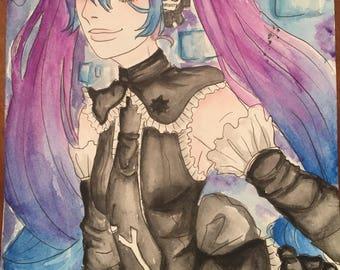 Infinity Miku - Vocaloid