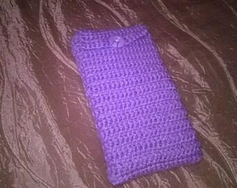 Wool case for smart phones