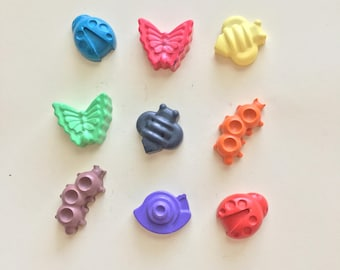 Bug Crayons Party Favors (10 bags)