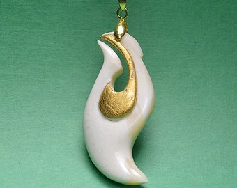 Maori jewellery, Gold_15