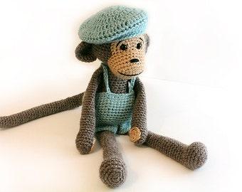 Pattern Monkey Amigurumi Monkey Pattern Crochet