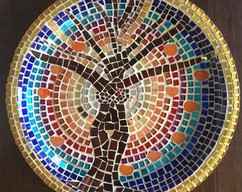 Persimmon Tree Mosaic