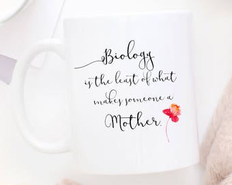 Adoptive Mom Mug | Foster Mom Mug | Step Mom Mug | Second Mom | God Mother Mug | Coffee Mug | Mother's Day Mug | Mom Mug | Mother's Day Gift