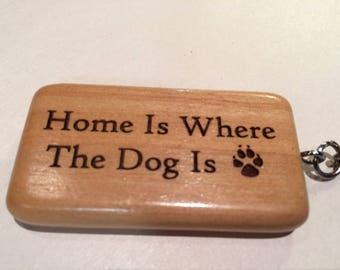 Engraved Canine Keychain