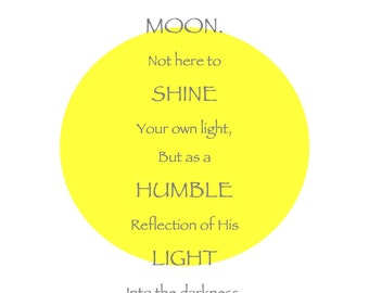 Be As The Moon