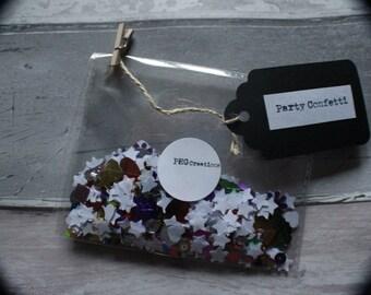 Party Confetti - party decor - confetti - wedding confetti - paper confetti - birthday confetti - colours - rustic confetti - party supplies
