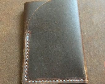 Minimalist leather trifold wallet