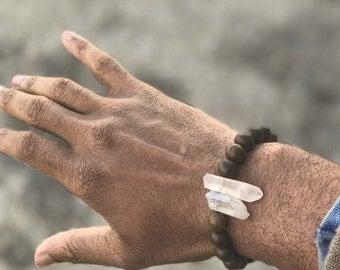 Quartz Power Wrist Mala